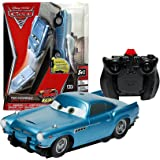 """Spin Master Year 2011 Disney Pixar Movie Series """"Cars 2"""" Air Hogs R/C Control Zero Gravity Car Set - FINN McMISSILE with Full Function (Left, Right, Forward, Reverse and Climb) Remote Control/Charger"""