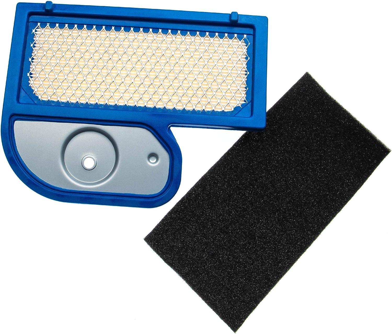 1x Luftfilter, 1x Vorfilter passend f/ür John Deere LT180 vhbw Filterset Aufsitzm/äher LT190 Rasentraktor