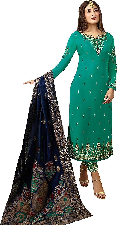 Indian Bollywood Wedding Salwar Kameez suit Ethnic wear Anarkali Suit Dress 247