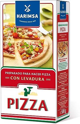 Harimsa Harina Preparado De Pizza 500 g: Amazon.es: Alimentación y bebidas