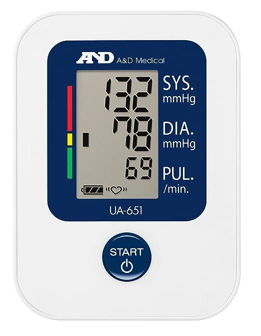A&D Medical UA-651, Tensiómetro de brazo digital, detección del pulso arrítmico: Amazon.es: Salud y cuidado personal