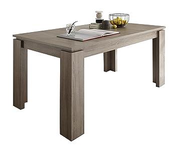 Trendteam Et16250 Esstisch Wohnzimmertisch Tisch Eiche Sägerau ... Esstisch In Eiche Sagerau Ausziehbar