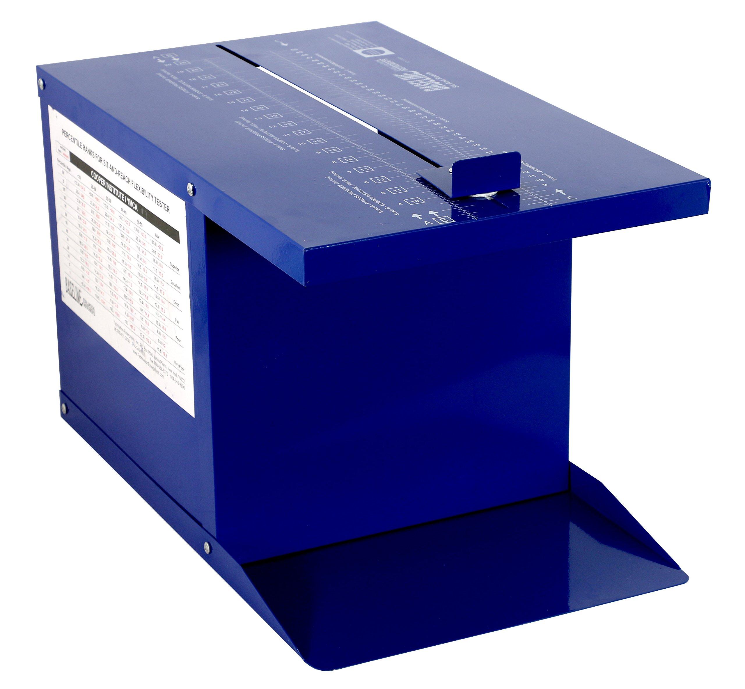 Baseline 12-1085 Sit n' Reach Trunk Flexibility Box