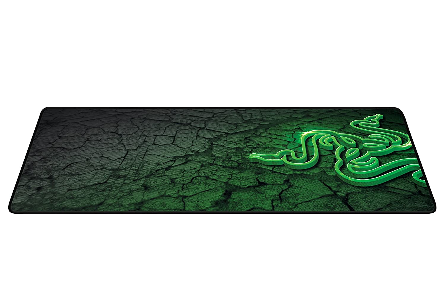 82ca157d63d Razer Goliathus Control (Extended) Gaming Mousepad - [Fissure]: Medium  Friction Mat - Anti-Slip Rubber Base - Portable Cloth Design - Anti-Fraying  Stitched ...