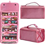 Storages & Display Case For Dolls Compatible with all LoL Surprise Dolls,Easy Carrying Storage Organizer Clear View Case
