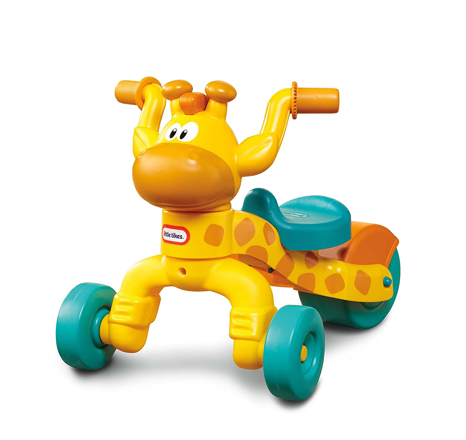 amazon com little tikes go and grow lil u0027 rollin u0027 giraffe ride on