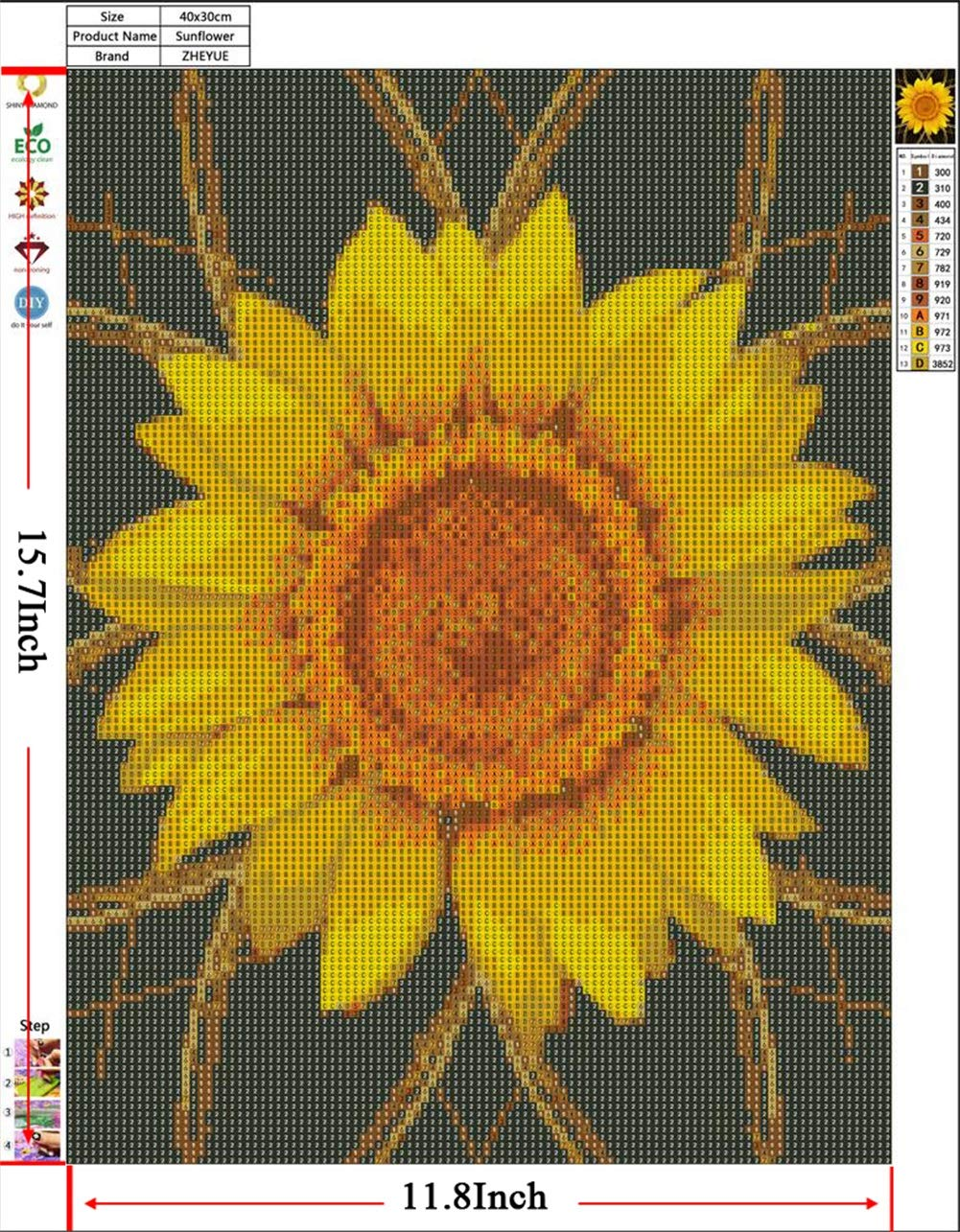 Diamond Painting Kits for Adults Full Drill Dandelion Ladybug 5D Diamond Dotz Kits with Paint by Number Kits Great Decor for Home,Living Room,Office,Kitchen,Shop