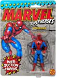 Toy Biz Web Suction Spiderman Vintage Action Figure (Marvel Superheroes)