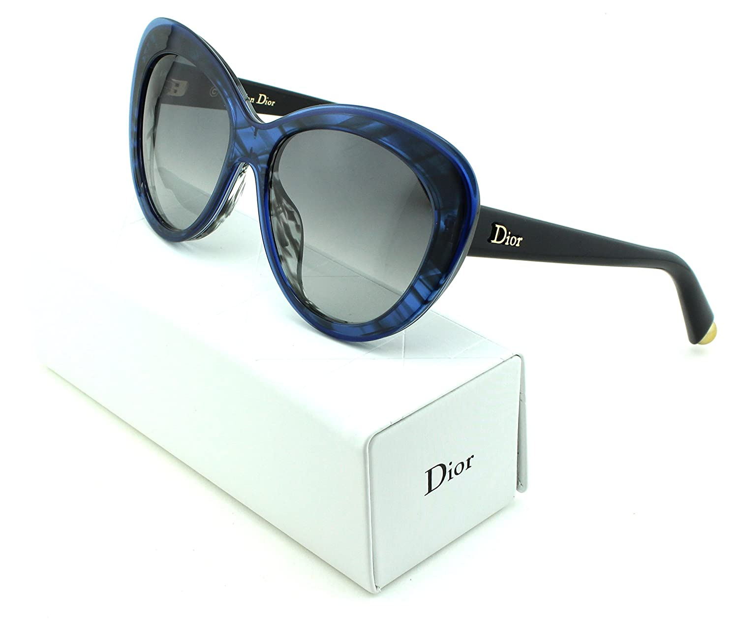 Dior レディース B075DGFVXF Pale White Brown Frame|ブラウン グラデーション レンズ (03HK) Pale White Brown Frame