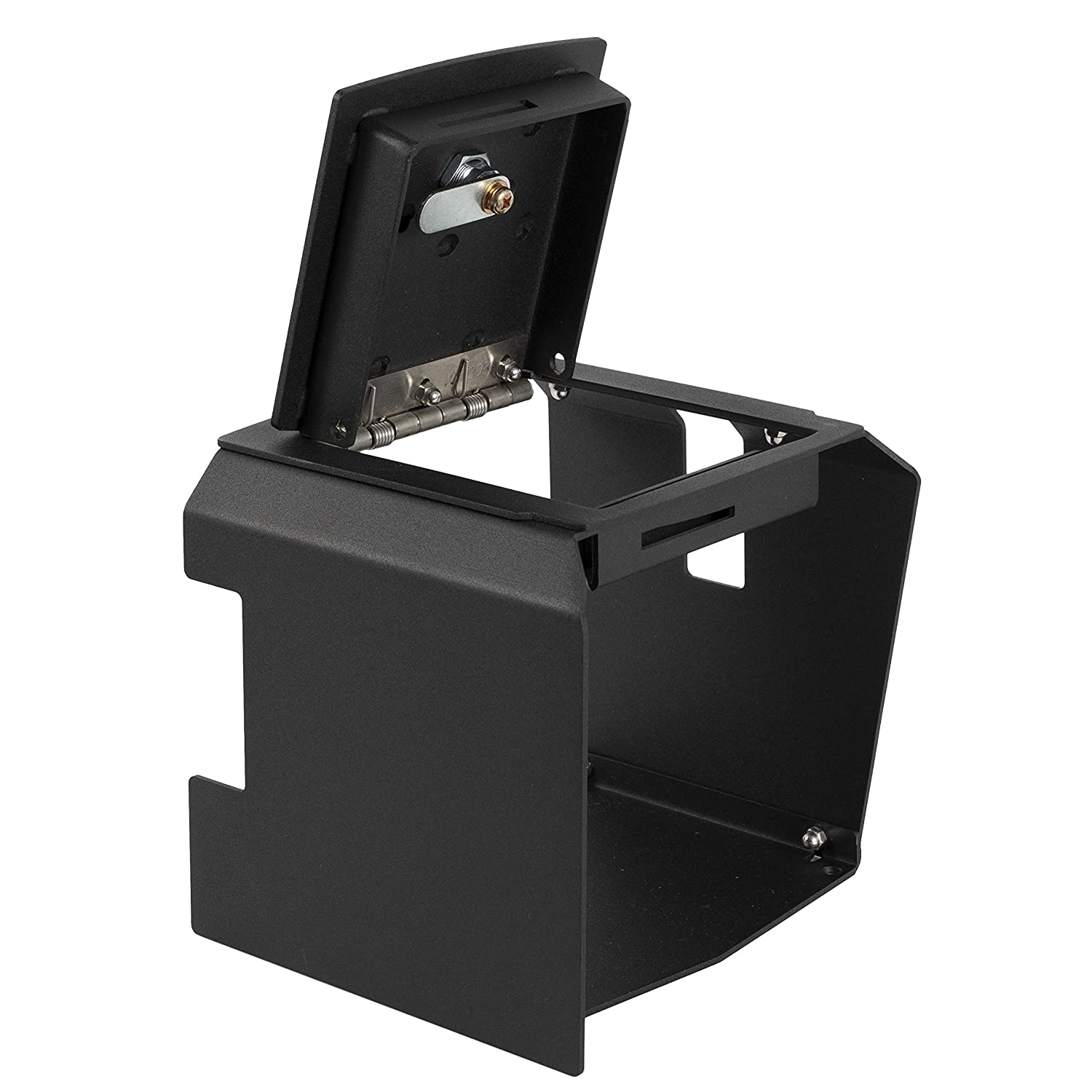 LD2070EX Locker Down Extreme Console Car Safe Compatible With 2018-2019 Jeep Wrangler JL and 2020 Gladiator Model Keep Personal Items Secure and Organized in Car Includes Rubicon