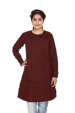 L Designer Clothes | Hardihood Wollen Winter Wear Designer Kurtis Kurtas For Women Sizes