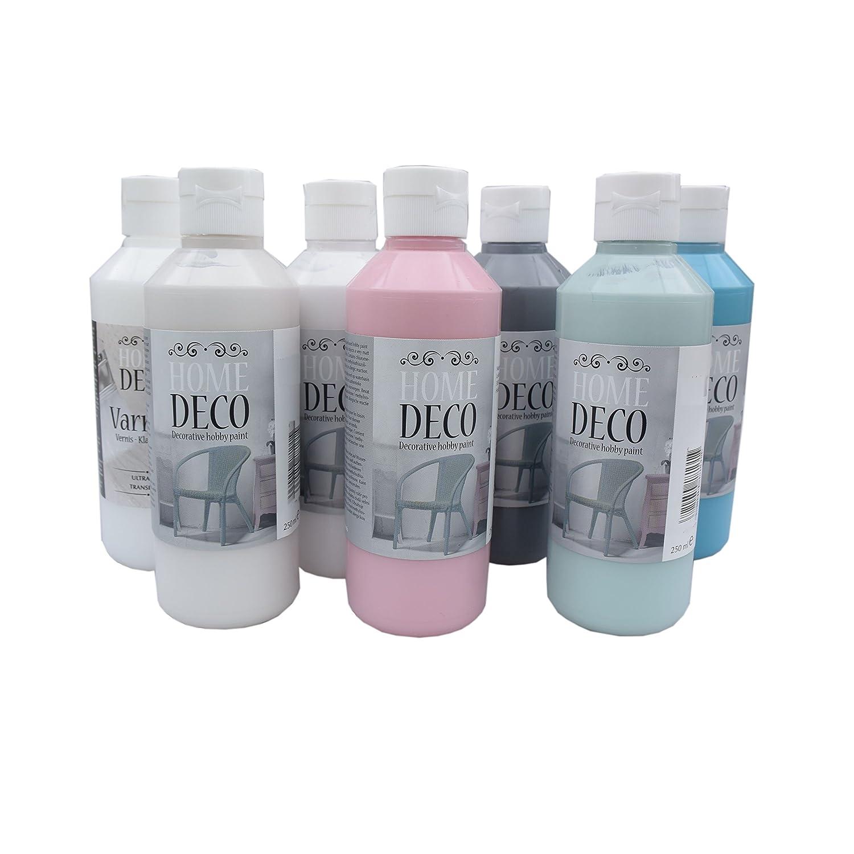 Vintage Farbe 250 ml für Holz und Möbel - pastell Farben im shabby ...