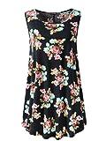 Amazon Price History for:Veranee Women's Sleeveless Swing Tunic Summer Floral Flare Tank Top
