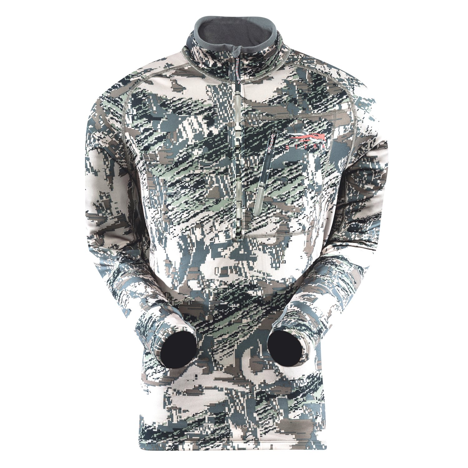 SITKA Gear Traverse Zip Tee Optifade Open Country XX Large by SITKA