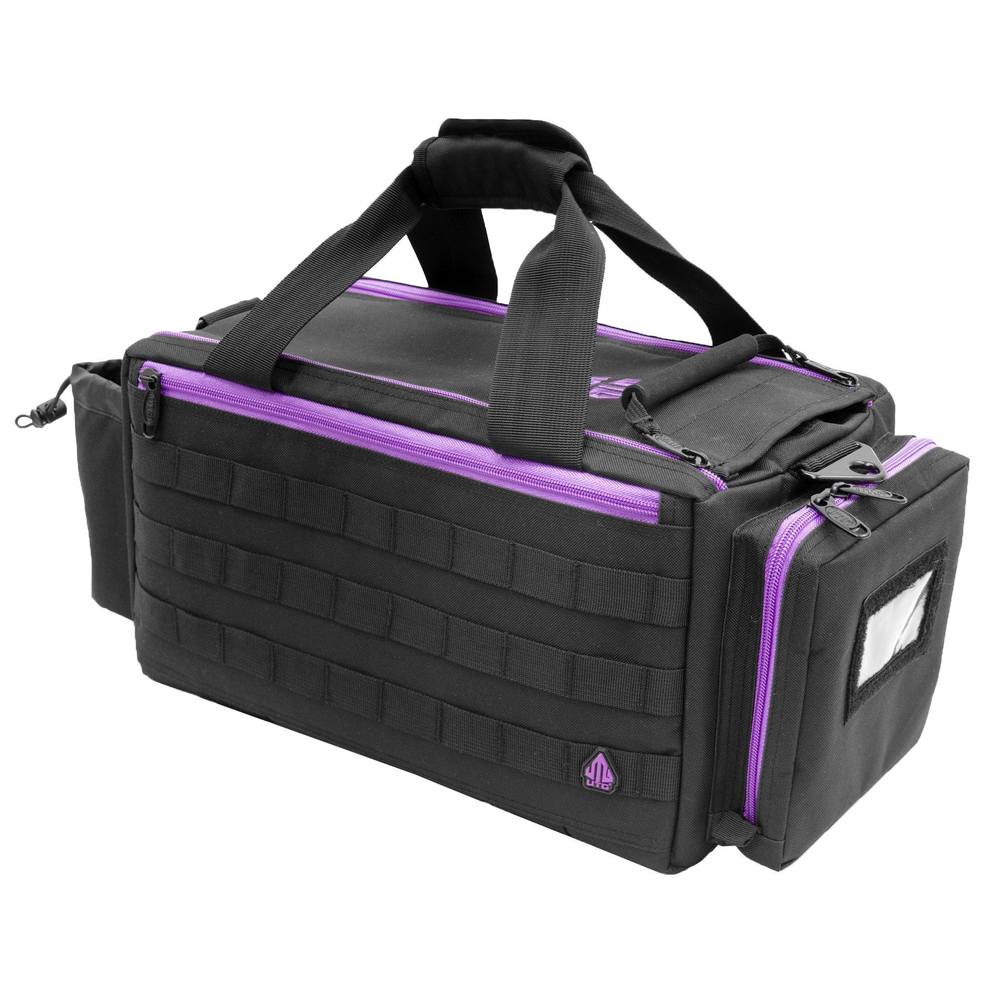 UTG All in One Range/Utility Go Bag, Black/Violet, 21'' x 10'' x 9'' by UTG (Image #2)