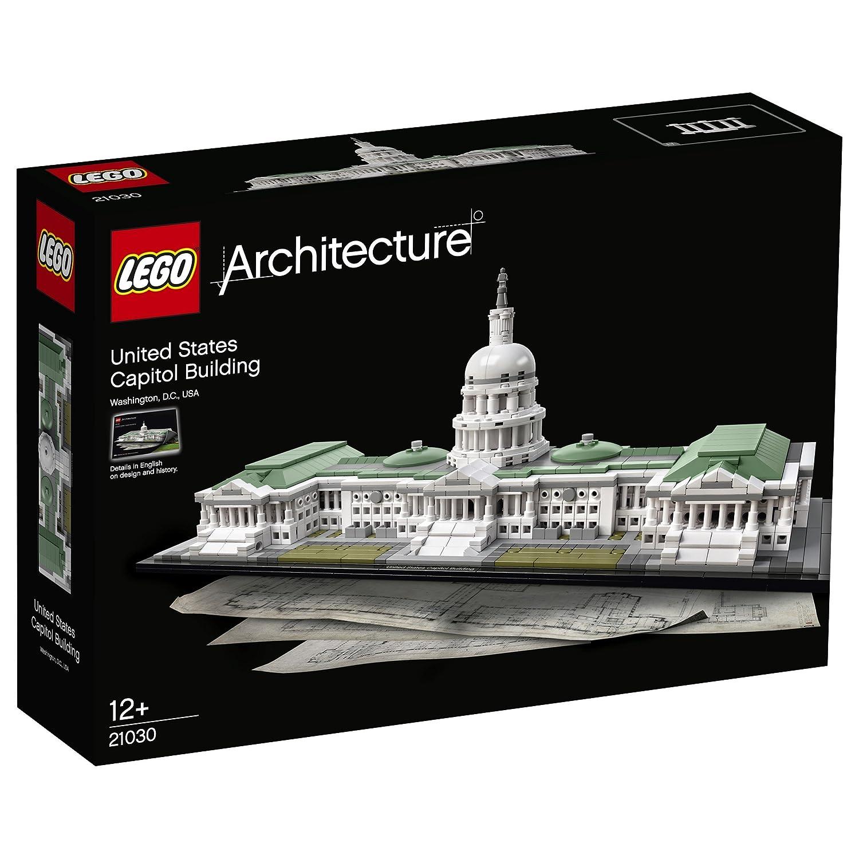LEGO Architecture Juego de construcción Edificio del capitolio de Estados Unidos