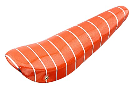 "20/"" Bicycle Banana Saddle Vinyl Sparkle Orange Lowrider Glitter Bike Seat Stripe"