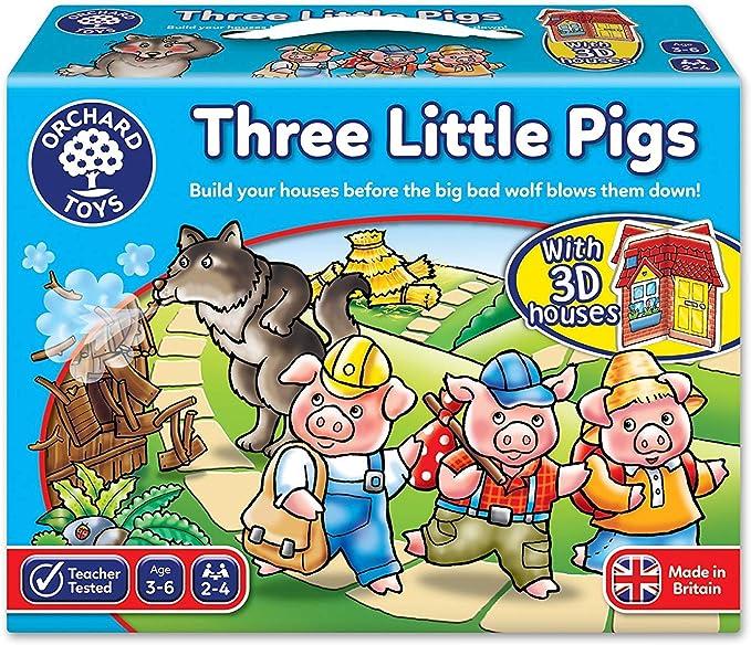 HEHE Tres Pequeños Cerdos del Juego: Amazon.es: Hogar
