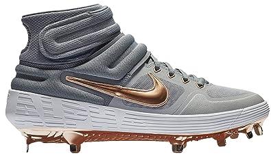 00c6a73c3950 Nike Men s Alpha Huarache Elite 2 Mid Baseball Cleats (8.5