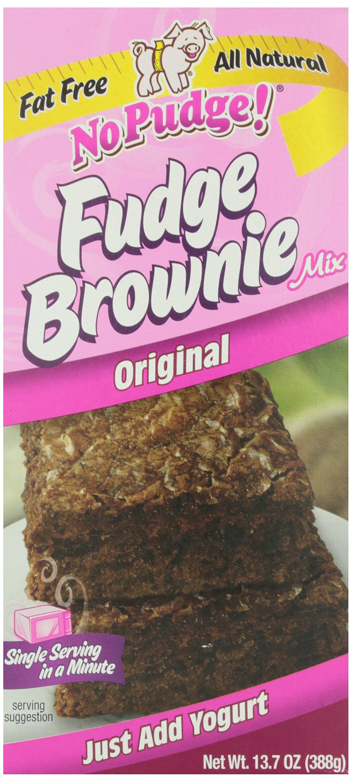 No Pudge, Fat Free Fudge Brownie Mix, Original, 13.7 oz