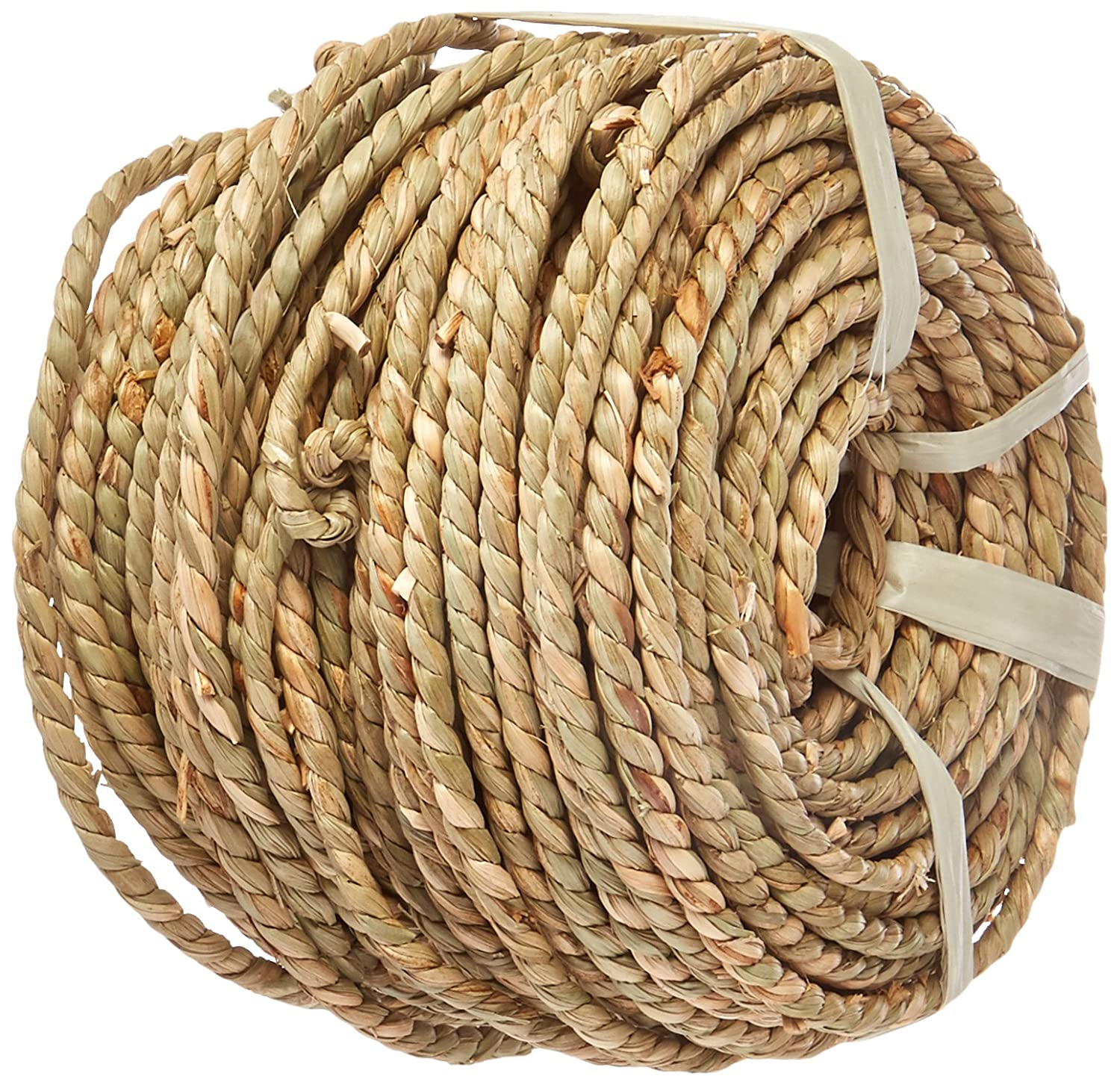 Commonwealth Basket Basketry Sea Grass #3 4-1/2mmx5mm 1-Pound Coil, Approximately 210-Feet SEA3X1