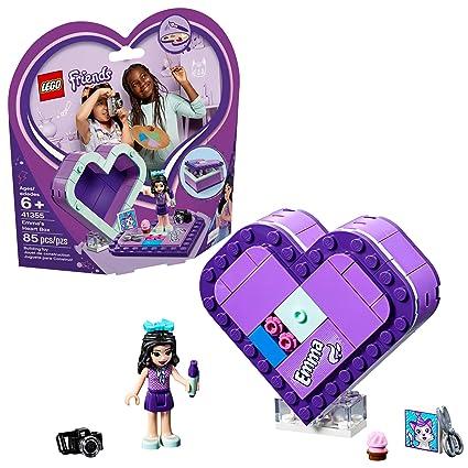 Amazoncom Lego Friends Emmas Heart Box 41355 Building Kit New