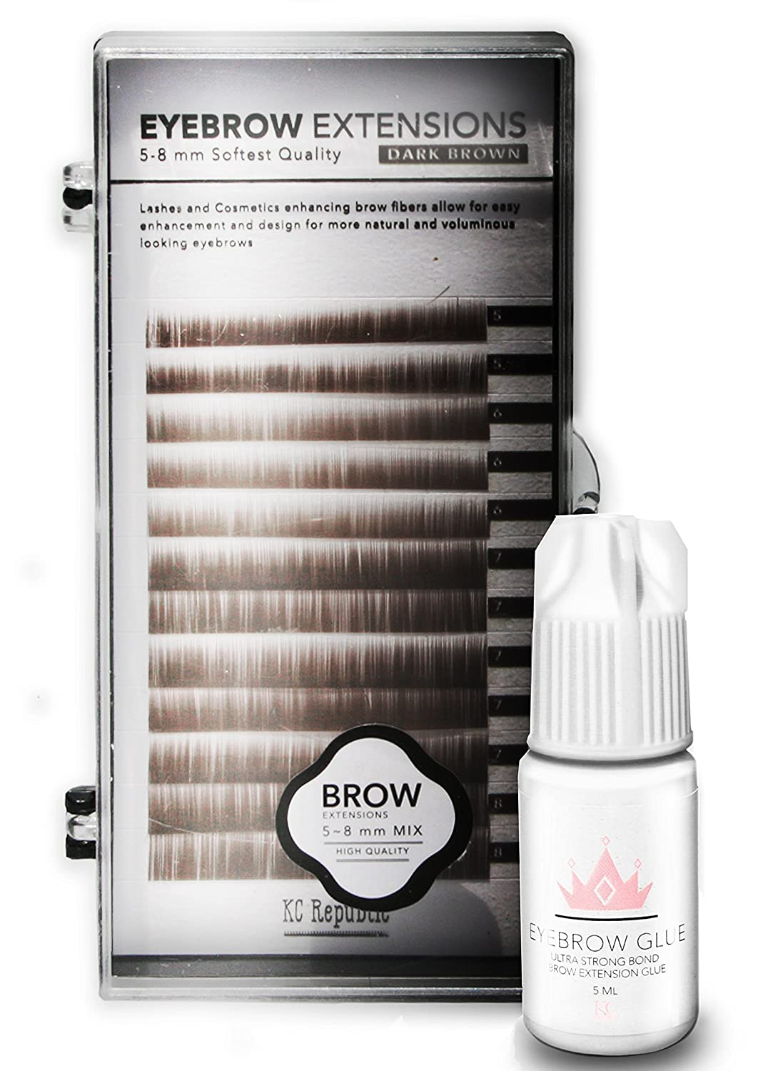 Amazon Eyebrow Extensions With Eyebrow Extension Glue Clear