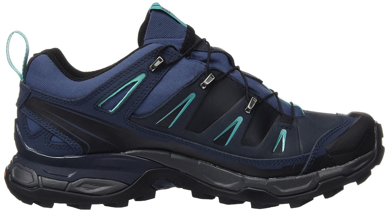 Salomon Damen X Ultra Ltr GTX Trekking-& Blau Wanderhalbschuhe Blau Trekking-& (SlateBlau/Deep Blau/Spa Blau 000) 0a2fce