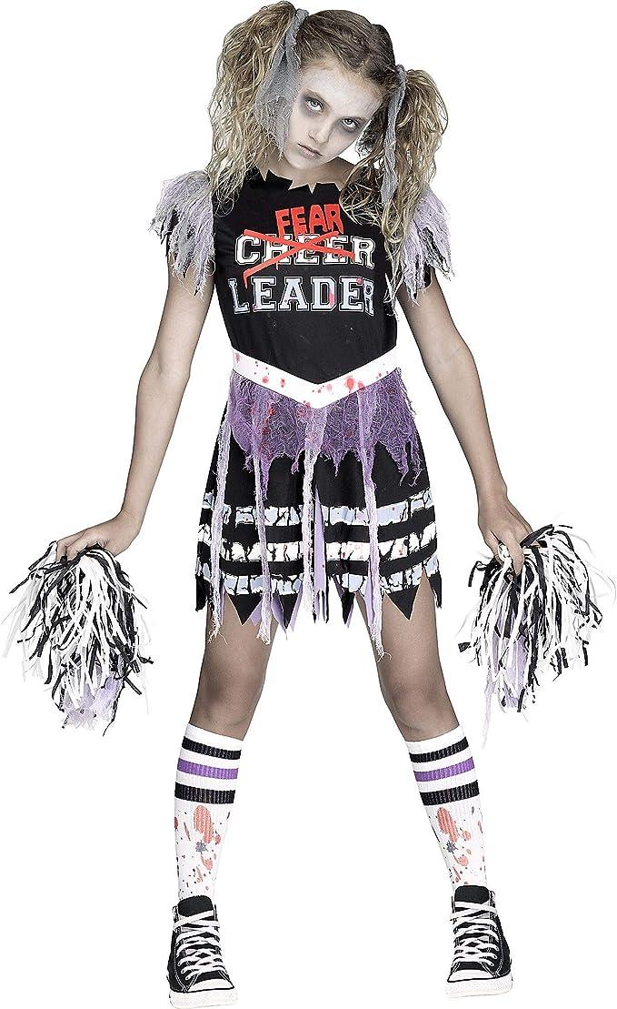 Amazon.com: Fun World de fearleader Zombie disfraz de ...