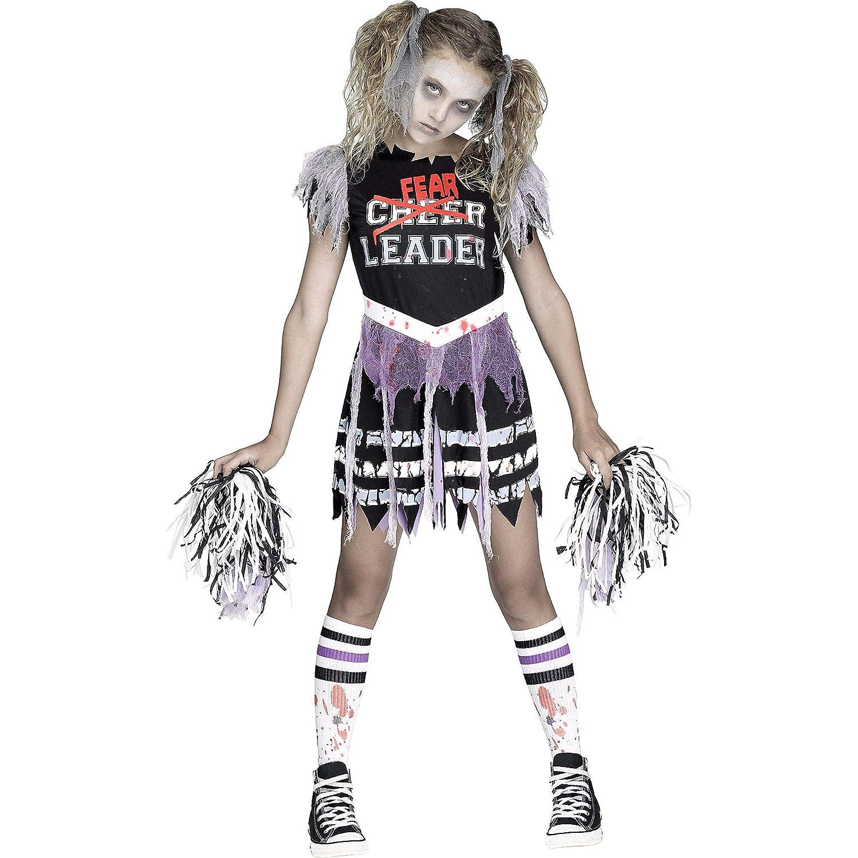 XLarge 1416 Fun World Zombie Fearleader Costume Cheerleader Costume