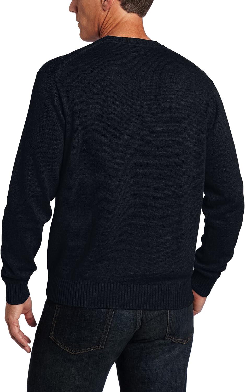 Haggar Mens Washington Textural Sweater