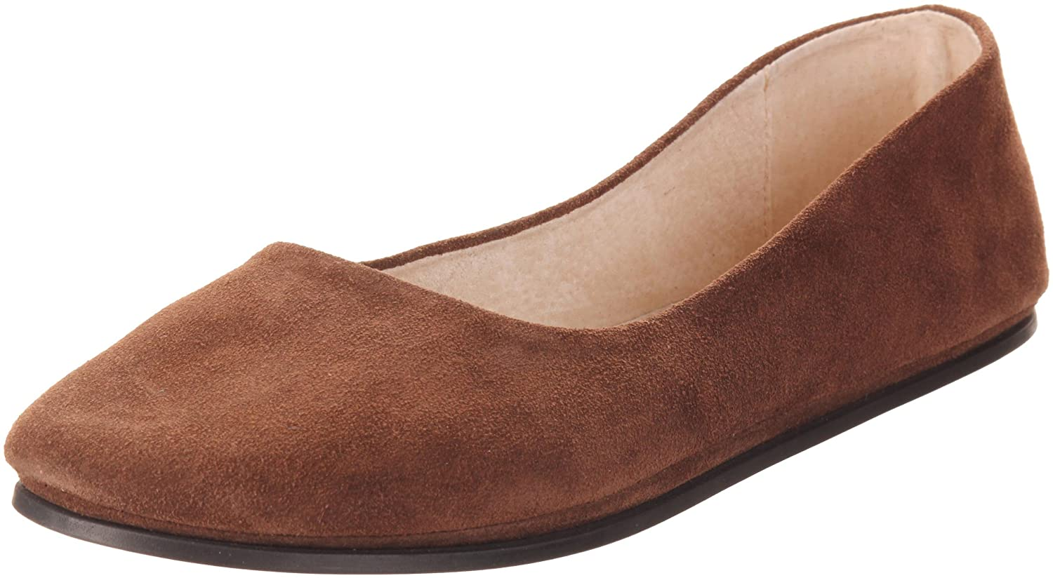 French Sole FS/NY Women's Sloop Ballet Flat B0012EYEZK 7.5 B(M) US|Chocolate Suede