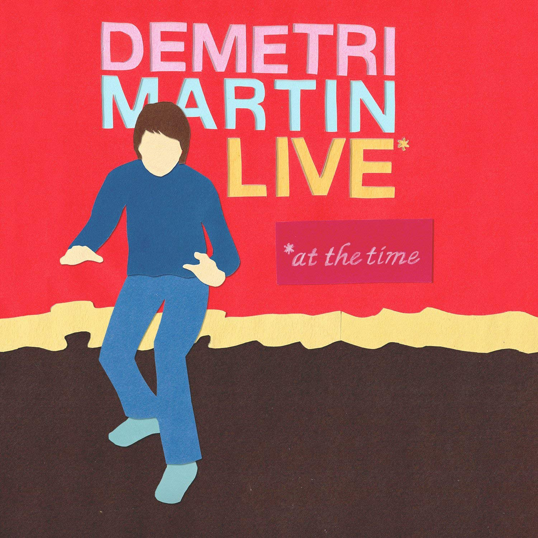 Vinilo : Demetri Martin - Live (at The Time) (LP Vinyl)