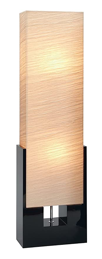 Beautiful Deco 79 Wood Floor Lamp, 48 Inch, Beige