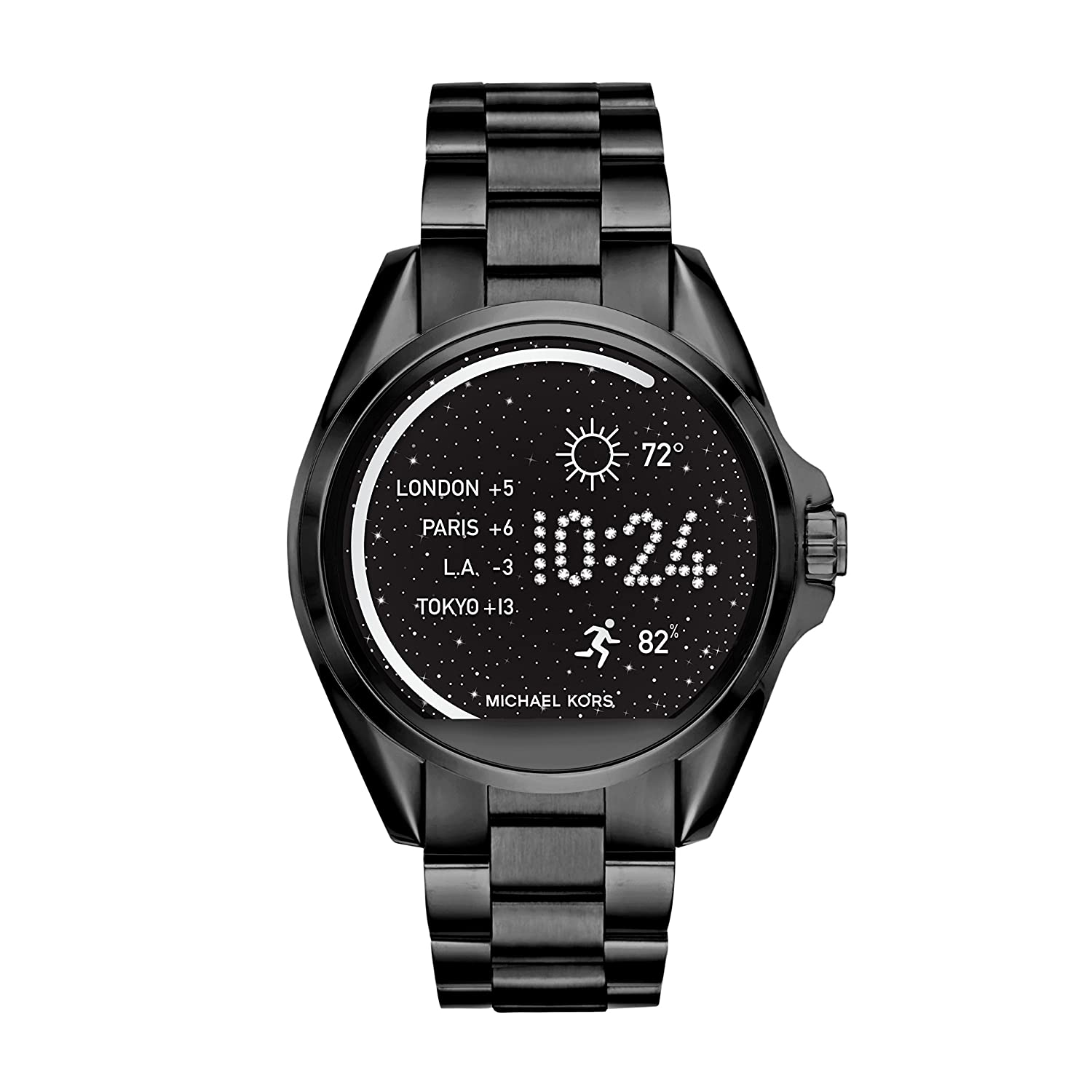Amazon.com: Michael Kors Bradshaw de acceso IP SmartWatch ...