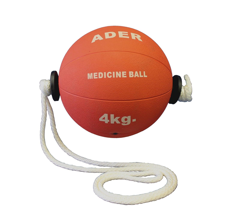 4 kg (9 libras) de cuerda balón medicinal: Amazon.es: Deportes y ...