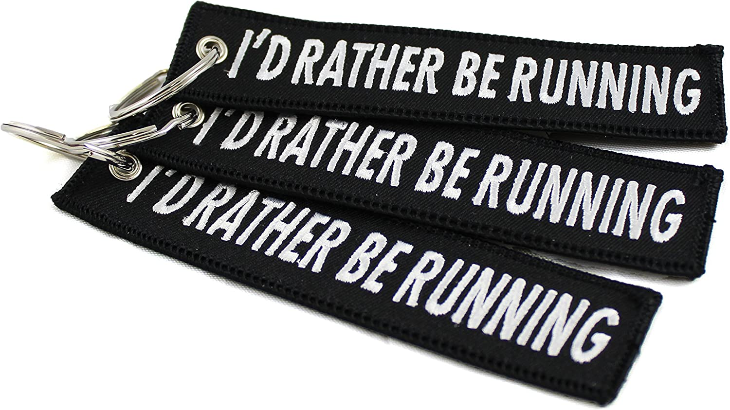 Motorcycles and More! Runners Key Chain For Cars CG KeyTags Id Rather Be Running 1 Scooters ATVs