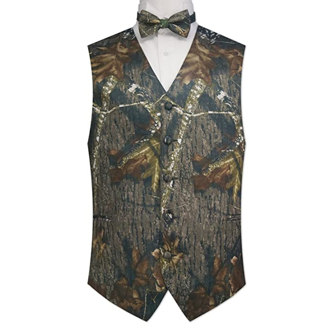 Review Camouflage Vest & Tie