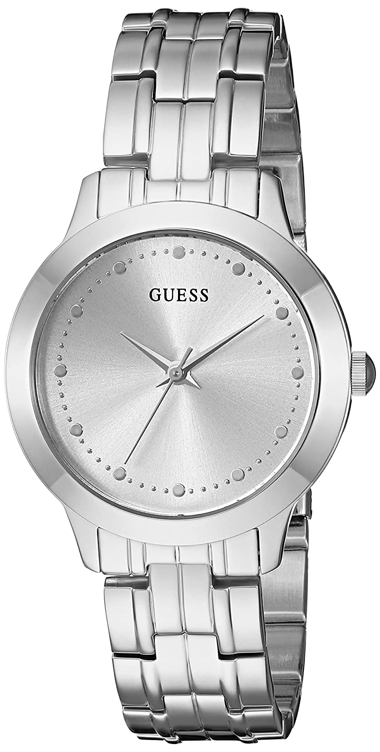 CDM product GUESS Women's Stainless Steel Petite Casual Watch big image