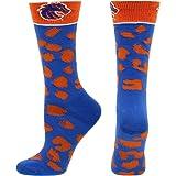 Russel Boise State Broncos Short Sleeve Mesh Fan Jersey #1 Blue and Orange