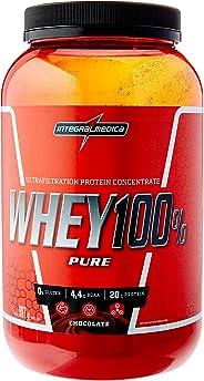 Whey 100% Pure, IntegralMedica, Chocolate, 907 g