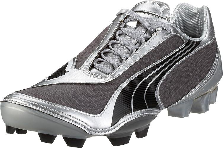 Puma v1.08 i FG 101455, Herren Sportschuhe Fußball, silber