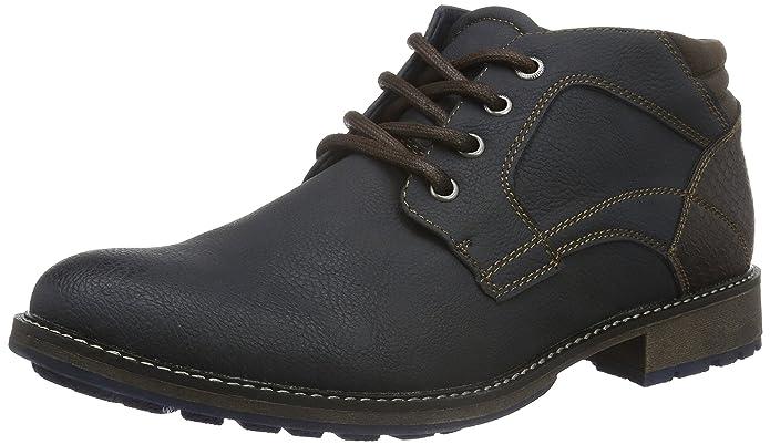 1611302, Botines para Hombre, Azul Oscuro, 42 EU BM Footwear