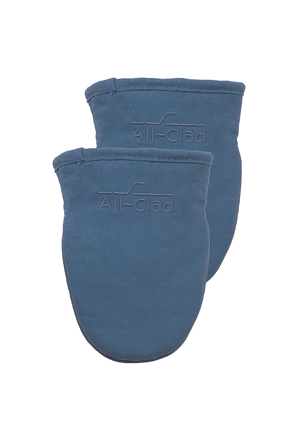 All-Clad Textiles 89816 Grabber Mitt, 2-Pack, Cornflower