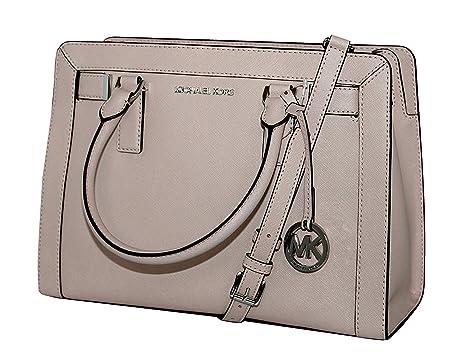 Amazon.com  MICHAEL Michael Kors Women s Dillon Shoulder Bag Medium Leather Satchel  Handbag (BALLET)  Clothing 6588b1daa9937