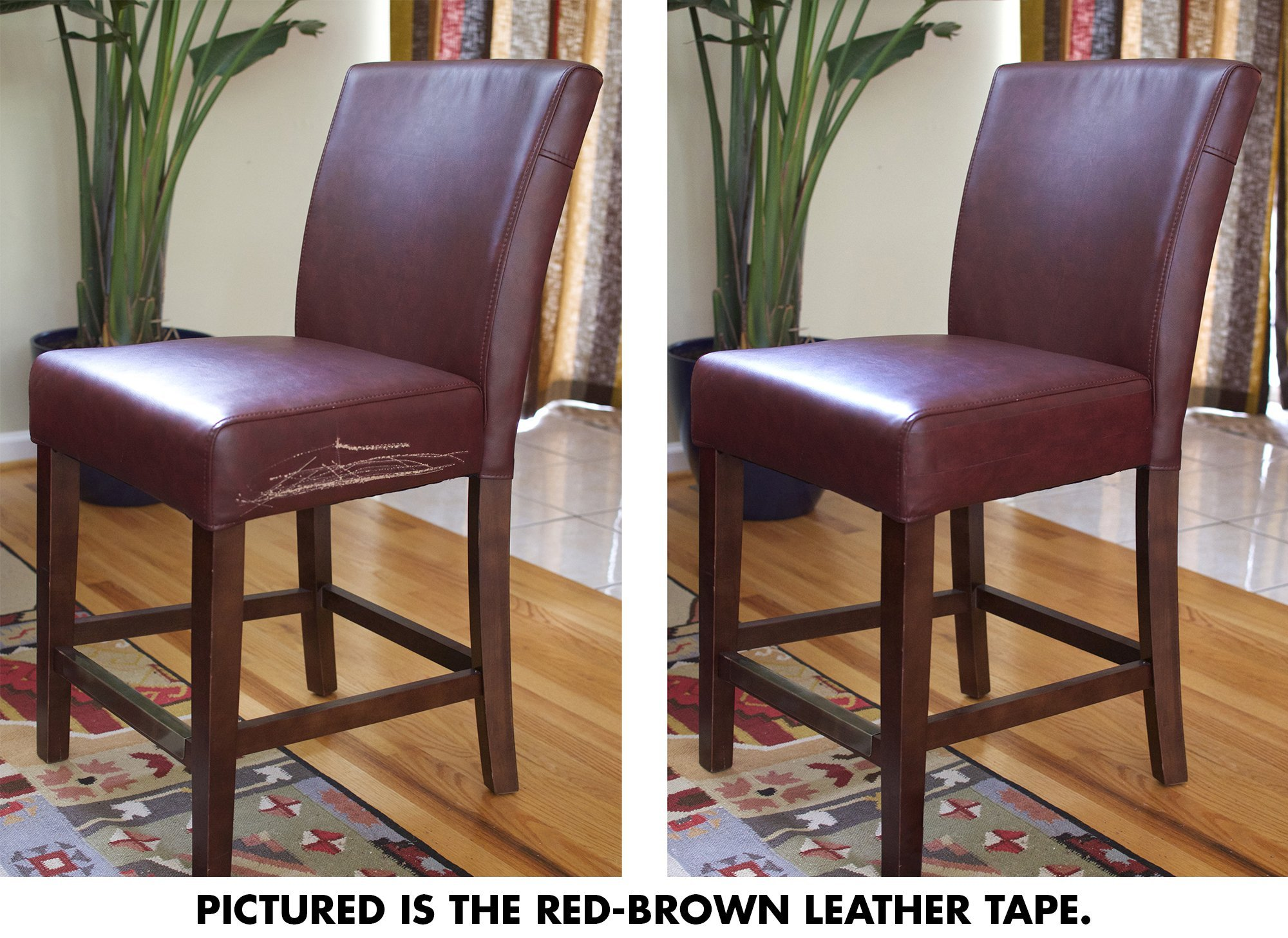 Dark Brown Leather Kit Car Seat Furniture Chair Couch