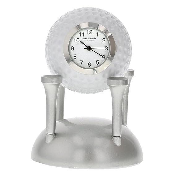 Miniatura pelota de Golf Tees – movimiento de cuarzo reloj de los coleccionistas 9649