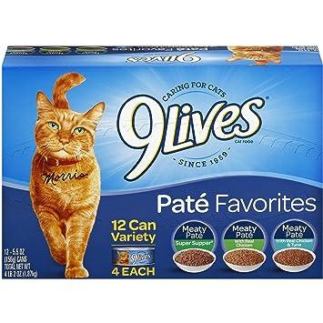 9 Lives Favorites Pate