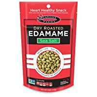 12PK Seapoint Farms Sea Salt Dry Roasted Edamame 4oz