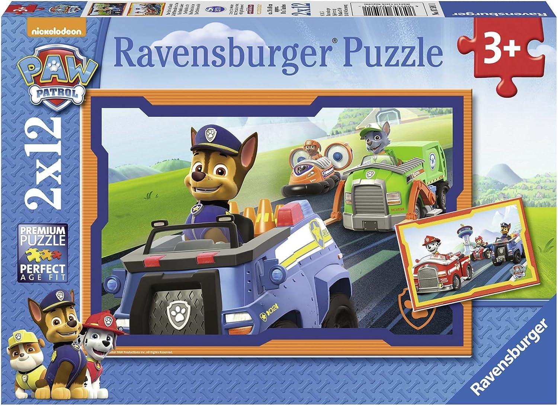 Puzzle PAW Patrol: Heldenhafte Hunde, 26x18 cm, 2x24 Teile